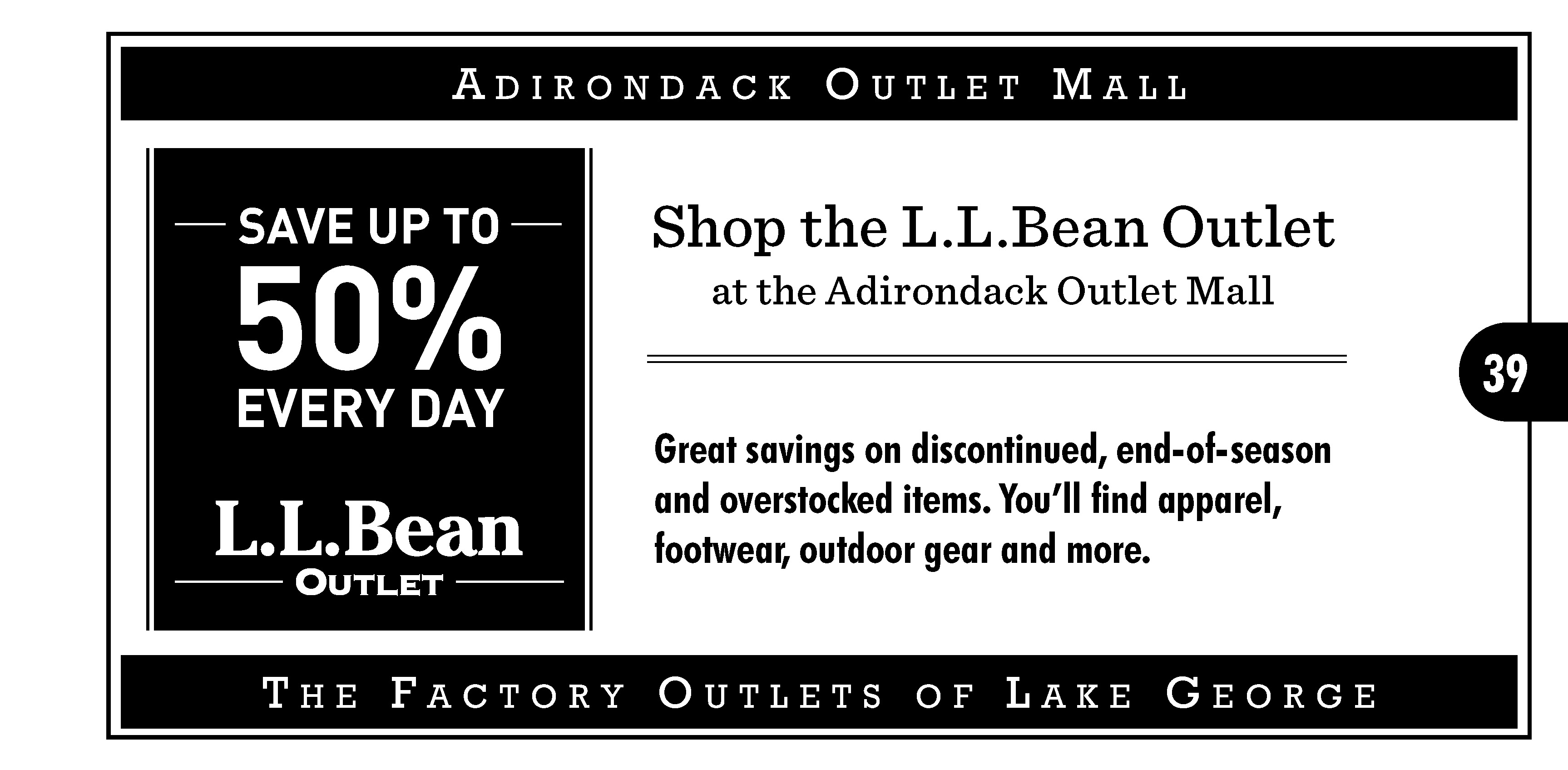 image regarding Ll Bean Coupon Printable identify 2018 Manufacturing unit Merchants of Lake George Coupon codes - Manufacturing facility